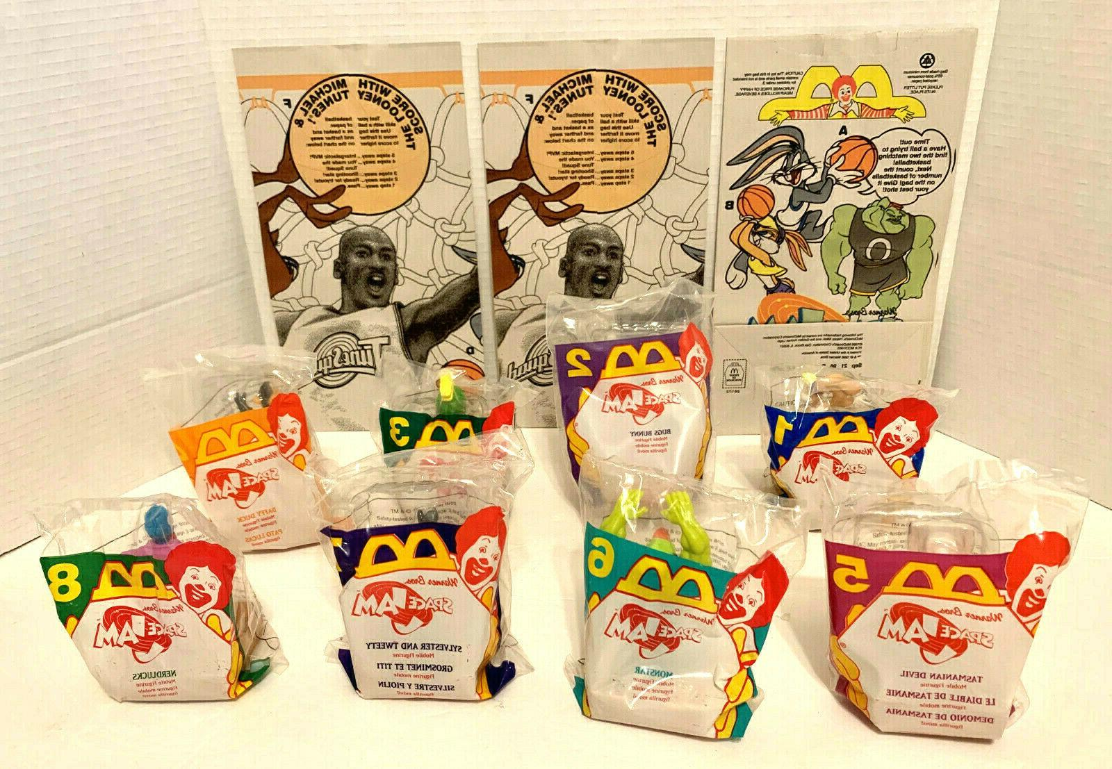 mcdonald s space jam happy meal toys