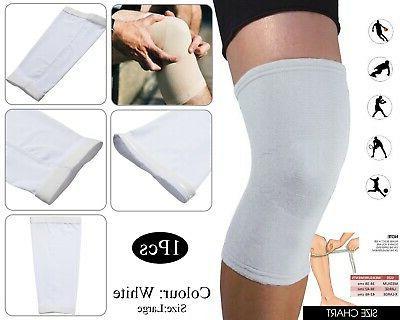 medical compression elastic support knee brace sleeve