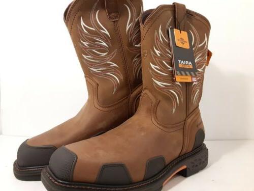 men s work boots sz 12 overdrive