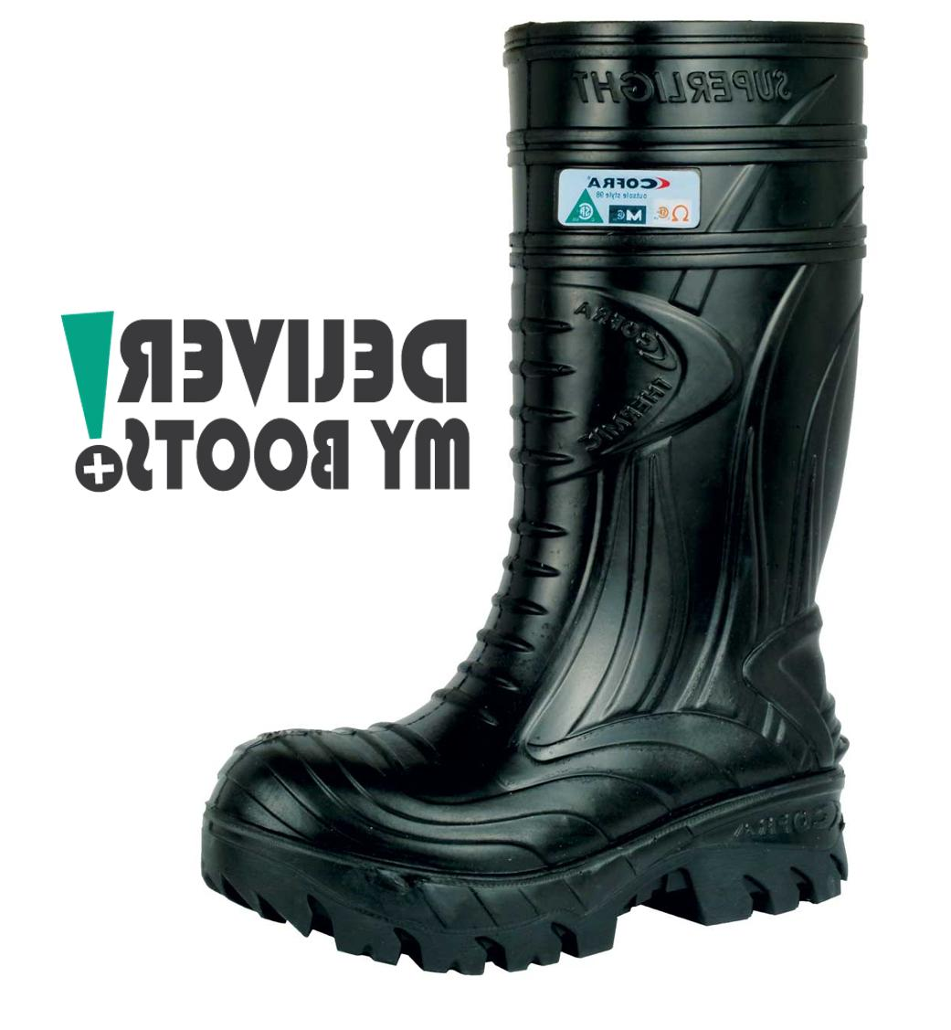 mens black thermic boots comp toe met