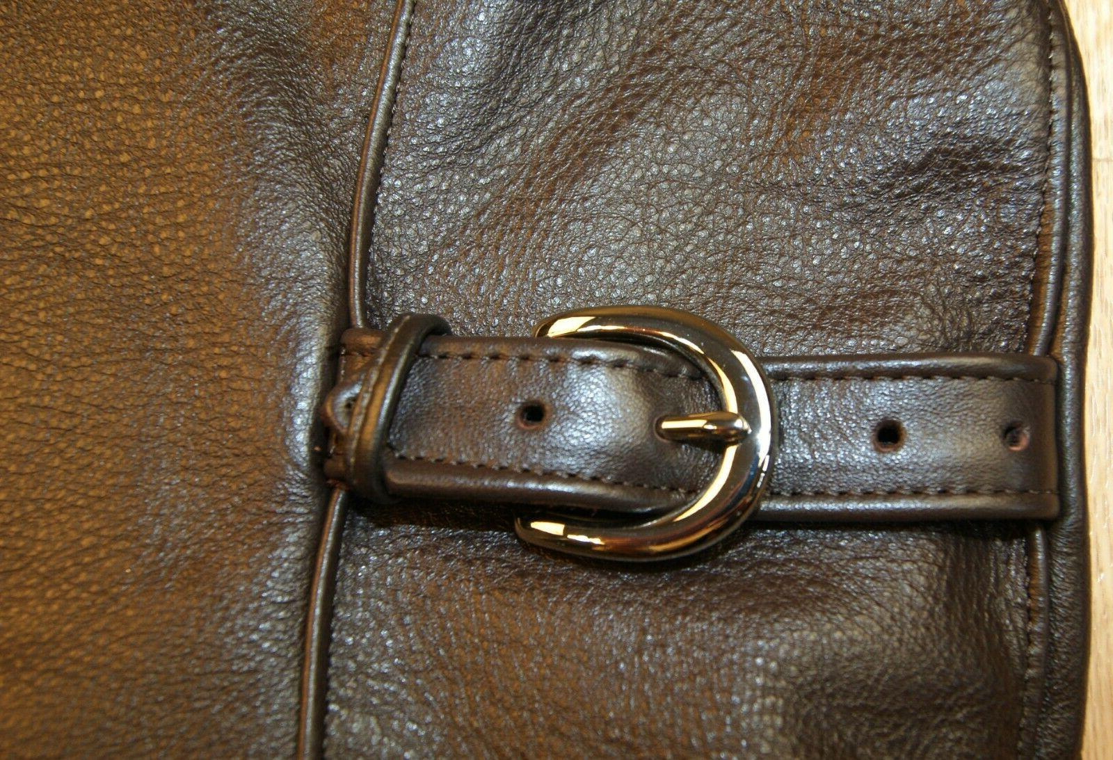 Vanson F, Brown Comp. Weight Leather IN STOCK