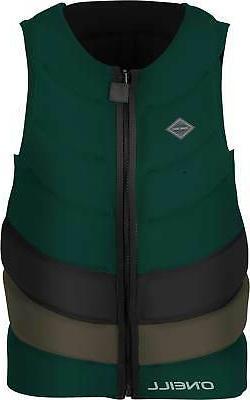 O'Neill Gooru Tech Front Zip Comp NCGA Wakeboard Vest Mens S