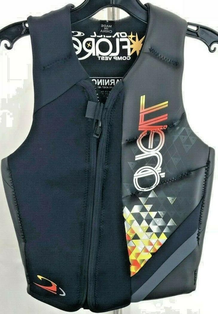 oneill ladies flare watersports wakeboard comp vest