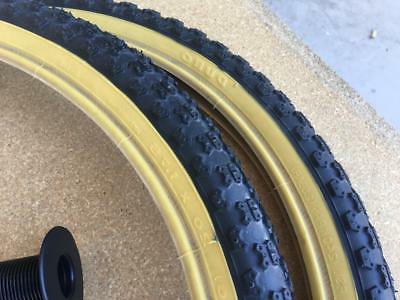 """PAIR of 20"""" MX3 Tires/Tubes"""
