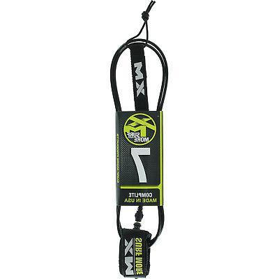 regular core comp lite surfboard leash 7
