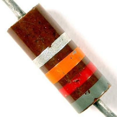 resistor carbon comp 1 watt vintage a