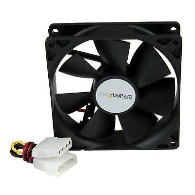 startech com fanbox92 92mm case cooling fan