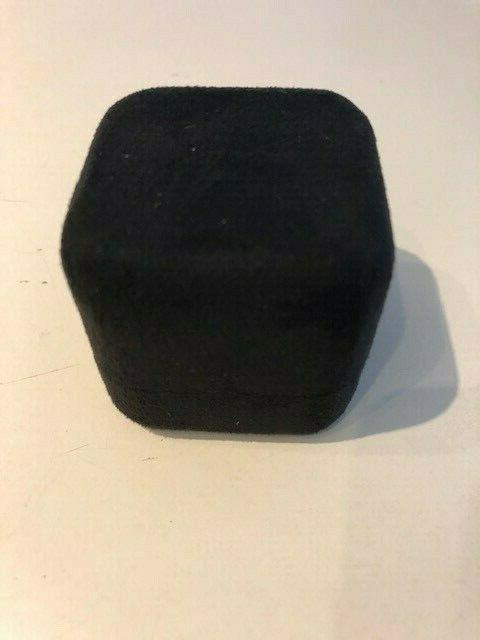 Tiffany&Co Black Ring Box Blue