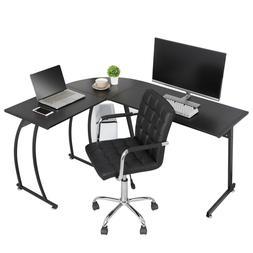 L-Shaped Corner Desk Computer Gaming Desk PC Table Writting