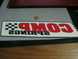 LARGE COMP SPRINGS Sticker / Decal Automotive ORIGINAL OLD S