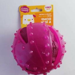 Leaps And Bounds Romp & Run Crinkle Pink Ball Tough-O-Meter