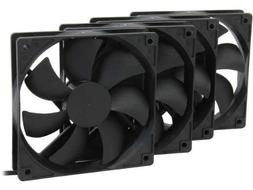 Rosewill 120mm Case Fan 4-Pack, Long Life Sleeve Bearing Com