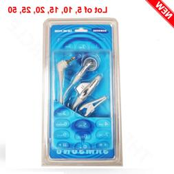 Lot of Samsung Ear Mic Mono 2.5mm Headphone Compatible With