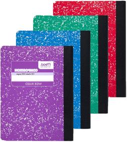 Mead Composition Book, Wide Ruled Comp Book, Writing Journal