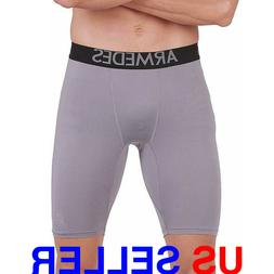 ARMEDES Men's Compression Pants Baselayer Cool Dry Sports Sh