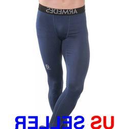 ARMEDES Men's Compression Pants Baselayer Cool Dry Sports Le