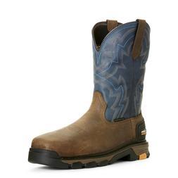 Ariat® Men's Intrepid Force Blue Composite Toe Work Boots 1