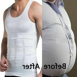 Men's Slimming Body Shaper Vest Abs Abdomen Compression Shir