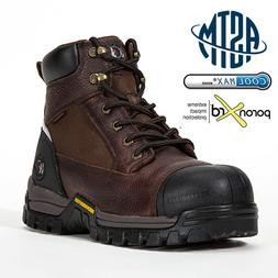 Men's Work Boots Composite Toe Anti-Water/Oil/Puncture Best