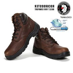 ROCKROOSTER Men's Work Boots Composite Toe Safety Waterproof
