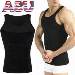Men Slimming Vest Compression Shirt Tank Gynecomastia Moobs