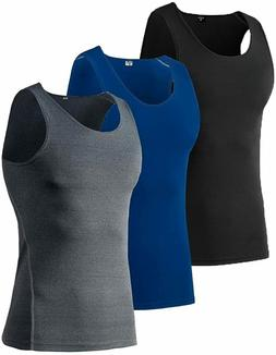 Audoc Mens Athletic Compression Sport Tank Top