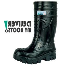 Cofra Mens BLACK Thermic Boots Comp Toe Met Guard Oilfield M