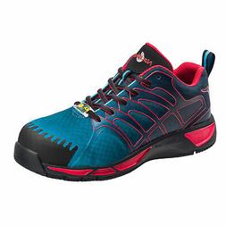 Nautilus Mens Blue/Red Mesh Comp Toe ESD Athletic Work Shoes