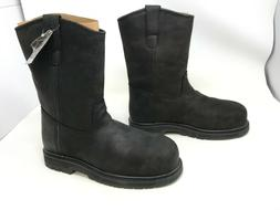 Mens Muck Boot  Wellie Classic Comp Toe Black Boots size 7.5