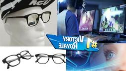MENS Computer Eye Glasses Strain Relief Blue Light Blocking