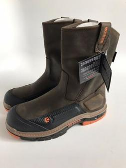Wolverine Mens Overpass Waterproof Wellington Work Boots Com
