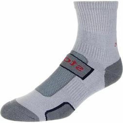 Stoic Merino Comp Trail Crew Sock - 3-Pack Nickel/Charcoal/M