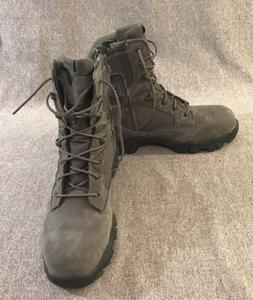 """BATES-Military/Tactical Boots Mens 8"""" Comp Steel Toe-Zip S"""