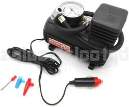 Mini Portable Air Compressor Electric Tire Inflator Pump 12