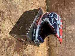 Fox Mountain Bike Mtb Cycling Rampage Comp Full Face Helmet