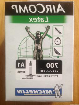"NEW Michelin AirComp Latex Inner Tube 700c 26"" 622 559 Prest"