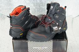 """NEW Men's Helly Hansen Bergen Work Waterproof 6"""" Boots Compo"""