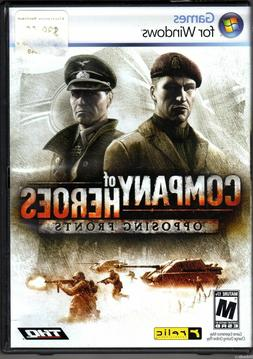 New Sealed Company Of Heroes: Opposing Fronts - PC DVD Game