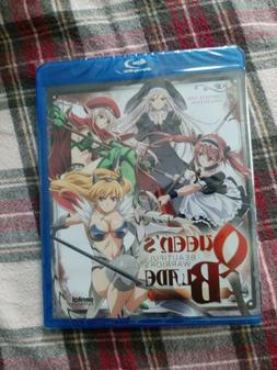 NEW SEALED - Queen's Blade: Beautiful Warriors Blu-Ray Compl
