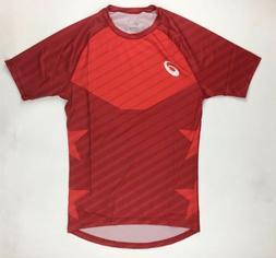 Asics Sub Comp 1/2 Sleeve Training Fitted Shirt Men's Large