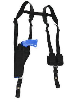 NEW Barsony Vertical Shoulder Holster w/ Speed-loader Pouch