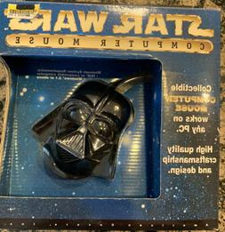 NIB Star Wars Collectible Darth Vader Computer Mouse ACCESSO
