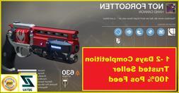 Not Forgotten Destiny 2  Comp Glory 5500 Unbroken XBOX  SAME