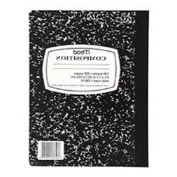 NOTEBOOK,9.75X7.5,100,BK