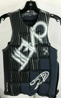 O'NEILL CHECKMATE WATERSKI WAKEBOARD  COMP VEST COLOR BLAC