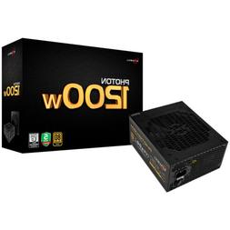 ROSEWILL Gaming 80 Plus Gold 1200W Power Supply/PSU, PHOTON