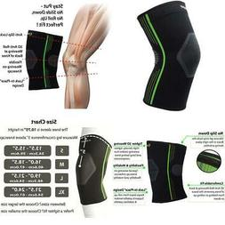 Plus Size Knee Sleeve Compression Knee Brace Support for Run