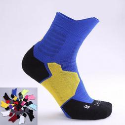 Pro Men Women Compression Basketball Elite Ankle Socks Runni