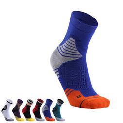 Pro Mens Womens Compression Basketball Ankle Socks Running M