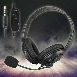 Gaming Headset For PS4 PlayStation 4 Xbox One & PC Computer